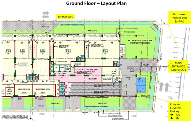 Ground Floor - Layout Plan
