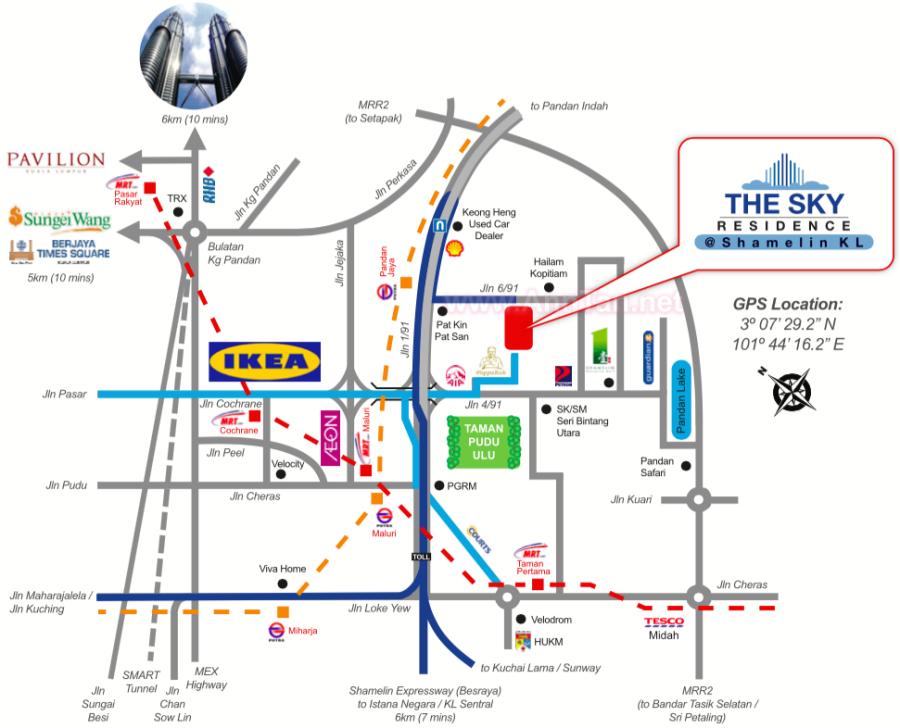 NEW! Sky Residence @ Shamelin, Cheras (RM575 psf) – Ann's